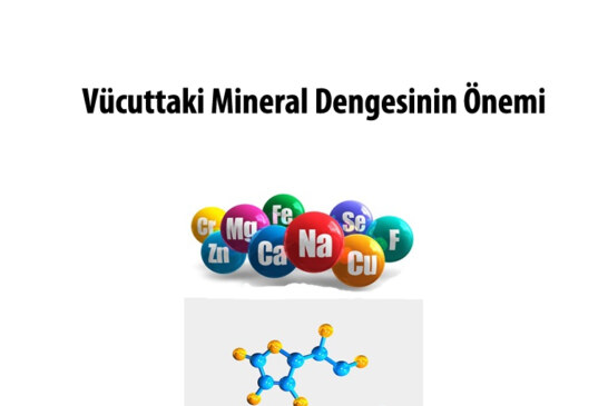 Vücuttaki Mineral Dengesinin Önemi