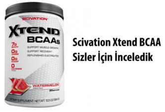 Scivation Xtend 384 Gr BCAA Nedir, Ne işe Yarar ?