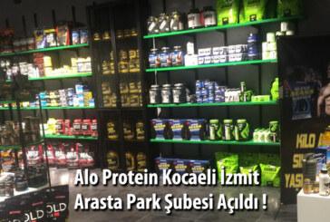 Alo Protein Sporcu Gıdaları Kocaeli – İzmit Arasta Avm ' de Açıldı !