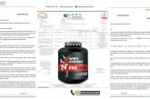 Nutrich Nutrition Laboratuvar Sonuçları