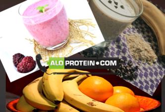 Lezzetli Protein Shake Tarifleri