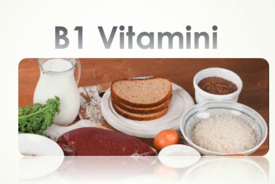 B1 Vitamini (Tiamin) Nedir? İçeren Besinler Ve Faydaları Nelerdir? Eksikliği Belirtileri
