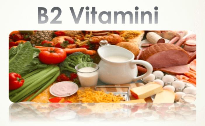 B2 Vitamini Hakkında Tüm Bilimsel Bilgiler