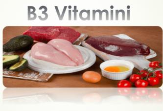 B3 Vitamini (Niasin) Hakkında Tüm Bilimsel Bilgiler