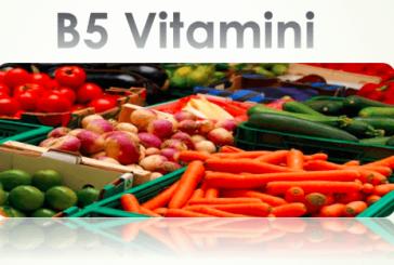 B5 Vitamini Hakkında Tüm Bilgiler