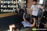 Hangi Egzersiz Kaç Kalori Yaktırır?